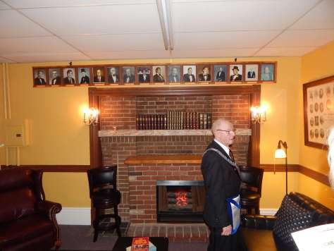 The Past Masters Lounge