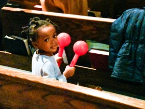 A young worshipper