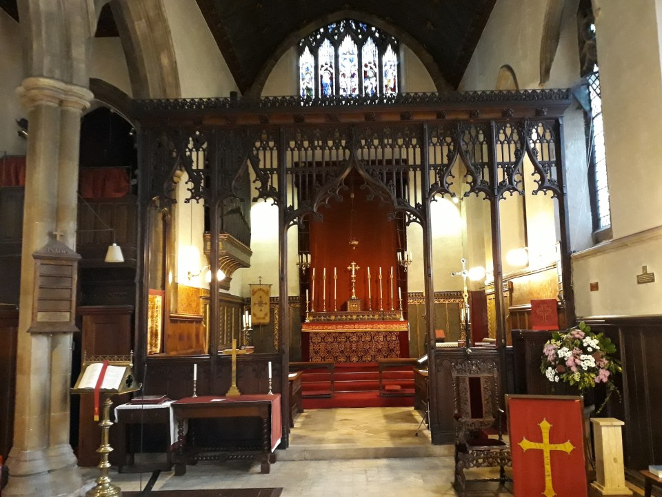 St Mary's - interior 1