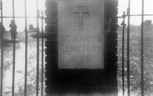 St. Mary Catholic Cemetery was consecrated by Father Maximilian Gaertner on August 15, 1854.