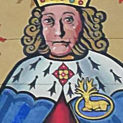 Richard II with White Hart badge