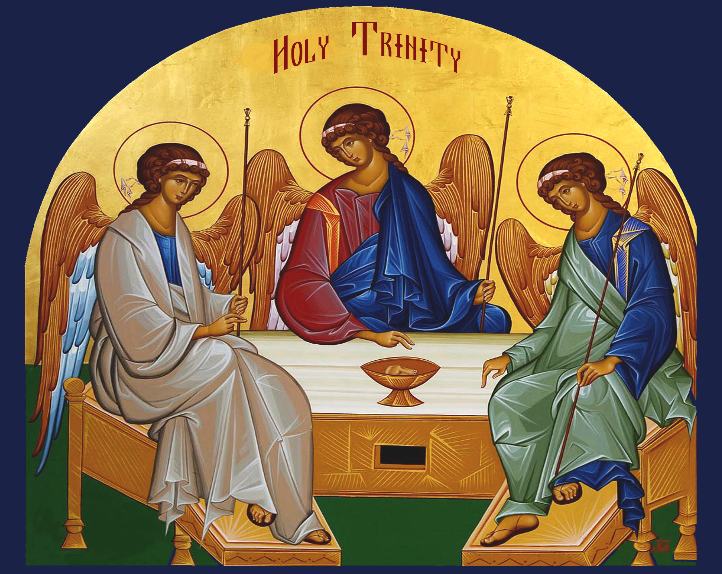 Bulletin 31 05 Trinity Sunday