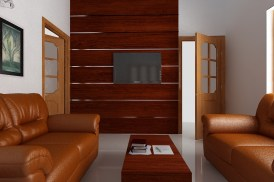 Interior TV unit design