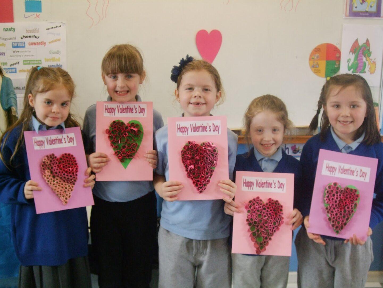 Primary 3 4 Celebrate St Valentine S Day