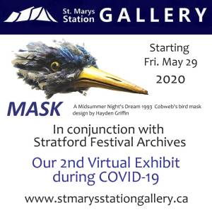 mask virtual ad