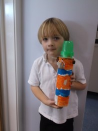 a completed lighthouse