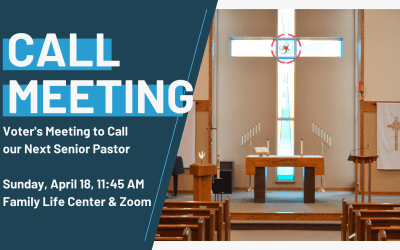 Senior Pastor Call Meeting