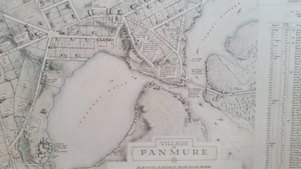 old map of panmure