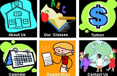 Preschool Page Icons- click on pictures