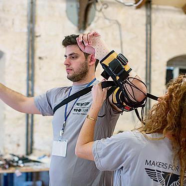 Неограниченные возможности: уникальный проект для улучшения повседневной жизни солдат ЦАХАЛа, тяжело раненных во время военных действий в секторе Газа. Фото: ynet
