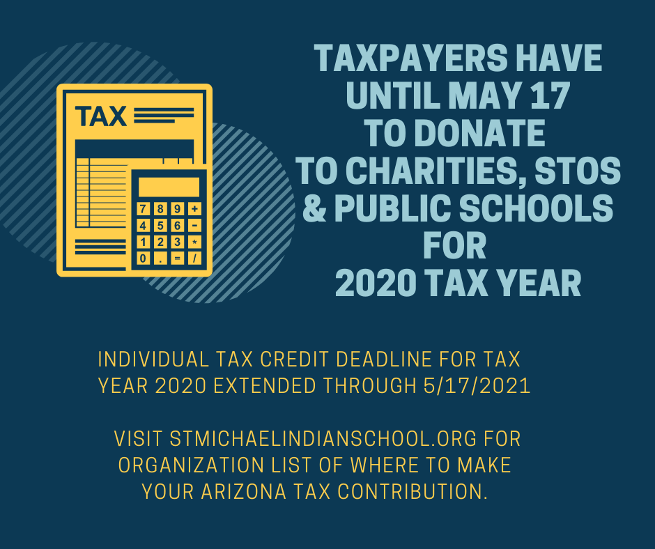 Taxpayers Have Until May 17 to Donate to Charities, STOs and Public Schools for 2020 Tax Year