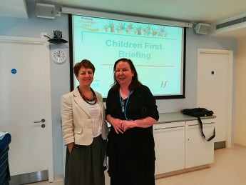 Photo of Barbara Cullinan (HSE), Ann Donohoe (St. Michael's Hospital)