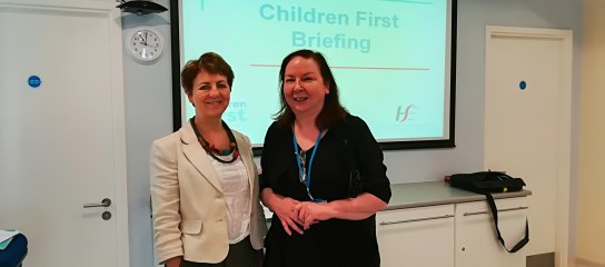 Children First staff presentation