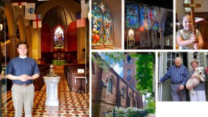 Montage of images of the church.