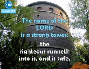 Picture of tower for the thief part 2 bs Proverbs 18:10