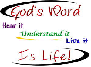 graphic of god's word