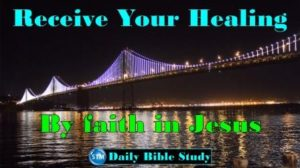 Picture of the sf bay bridge for the daily Bible study page