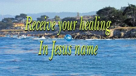 how to receive healing in jesus name