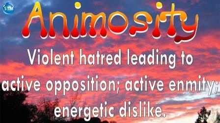 Animosity - Get Rid of It