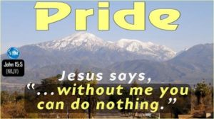 Picture of snow-capped mountain for the pride bible study John 15:5