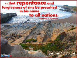 picture for repentance - muir, ca