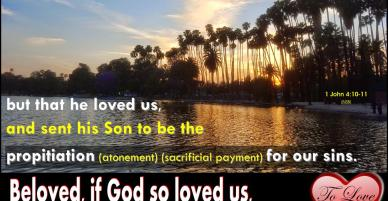 To Love – Learn How To Love Like Jesus Loves