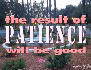 Patience from God Will Help You Endure Life Troubles and Live Forever
