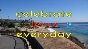 Picture of laguna beach for the celebrate jesus Bible study