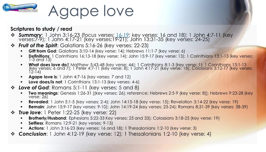 14 Days of Agape - Bible study workbook ⋆ A Little R & R
