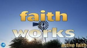 Picture of rose garden windmill for the active faith bible lesson
