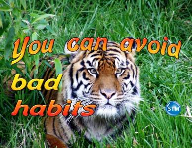 Habits – 2 Bad Habits to Avoid
