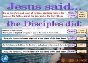 the name of Jesus graphic word