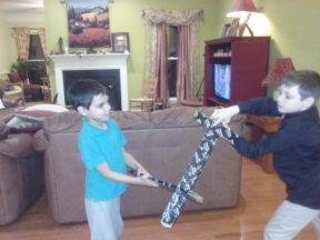 boys light sabers