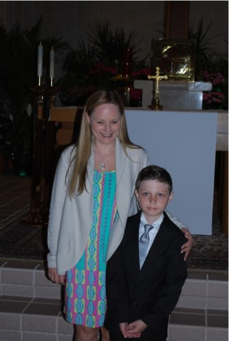 Joe First Communion 6