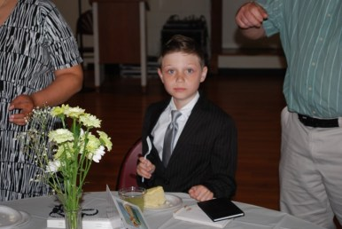 Joe First Communion 8