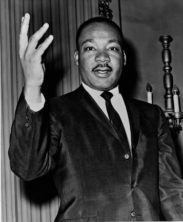 Martin Luther King Jr. | 1964 | Courtesy of Wikimedia Commons.