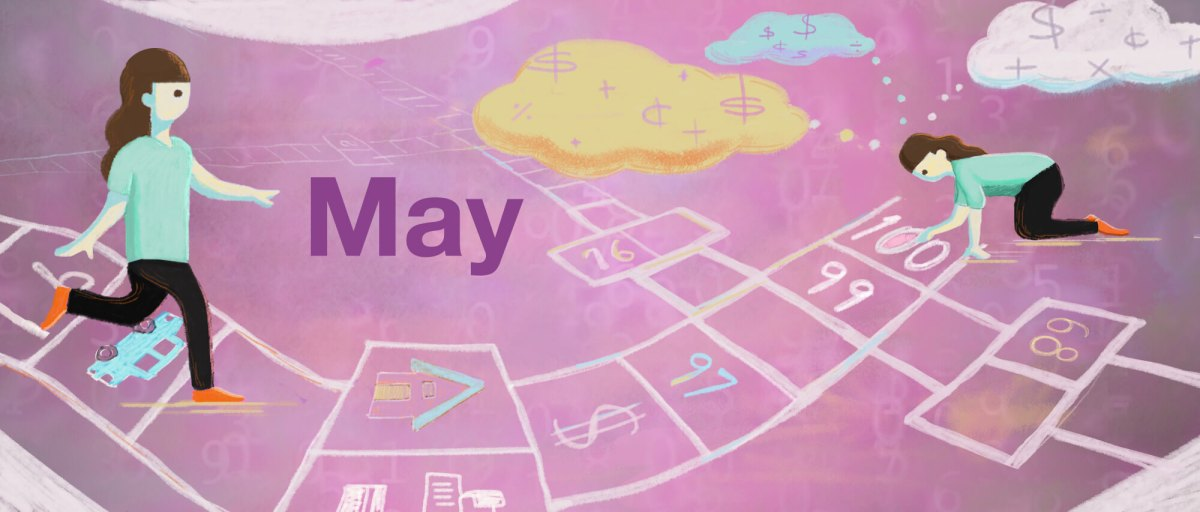30 Days May Map Your Money Thought Patterns