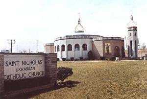 Saint Nicholas Church in 1975