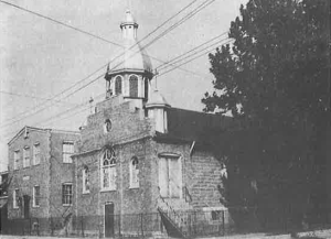 St. Nicholas Catholic Church in 1958