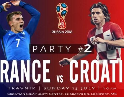France vs. Croatia PARTY #2