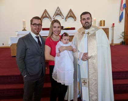 Baptism of Liliana Grace Nowell