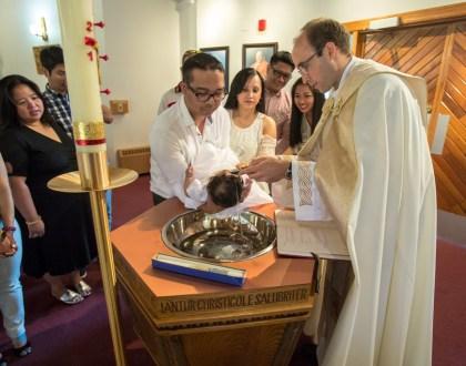 Baptism of Ezra Suzzane Magararu