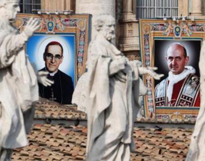 Papa Franjo proglasio novih sedam svetaca Katoličke Crkve