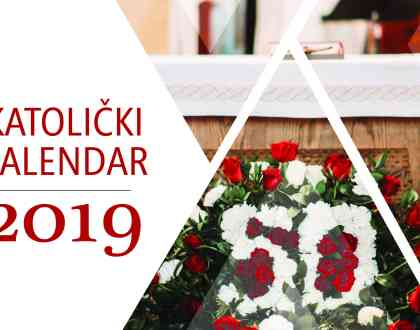 Catholic calendar 2019