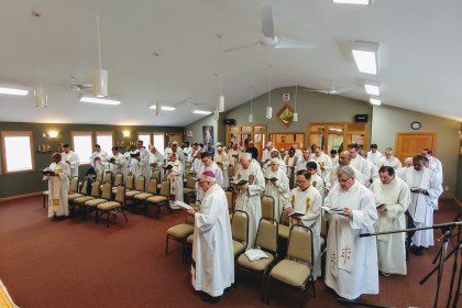 Archidocese of Winnipeg Priest's Spiritual Retreat 2019