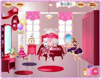 Игра обстановка дома играть онлайн бесплатно - Игры Барби