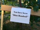 Dino Bomb Sign