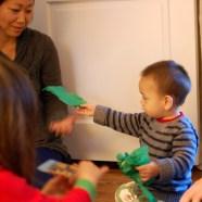 Caleb unwrapping