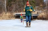 Scouting the ice