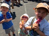 Popsicles to ward off the heat